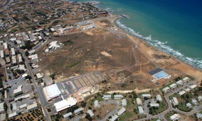 Η έκταση της πρώην Αμερικανικής Βάσης στις Γούρνες Ηρακλείου - Φωτό: ΤΑΙΠΕΔ