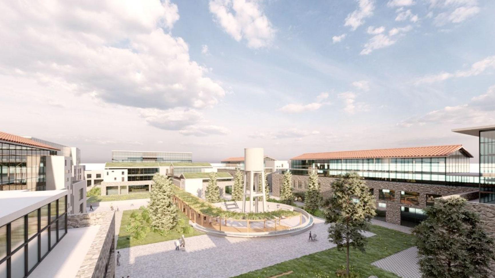 Η νέα Πολιτεία Καινοτομίας που θα κατασκευαστεί στο πρώην ακίνητο της ΧΡΩ.ΠΕΙ. στην Πειραιώς