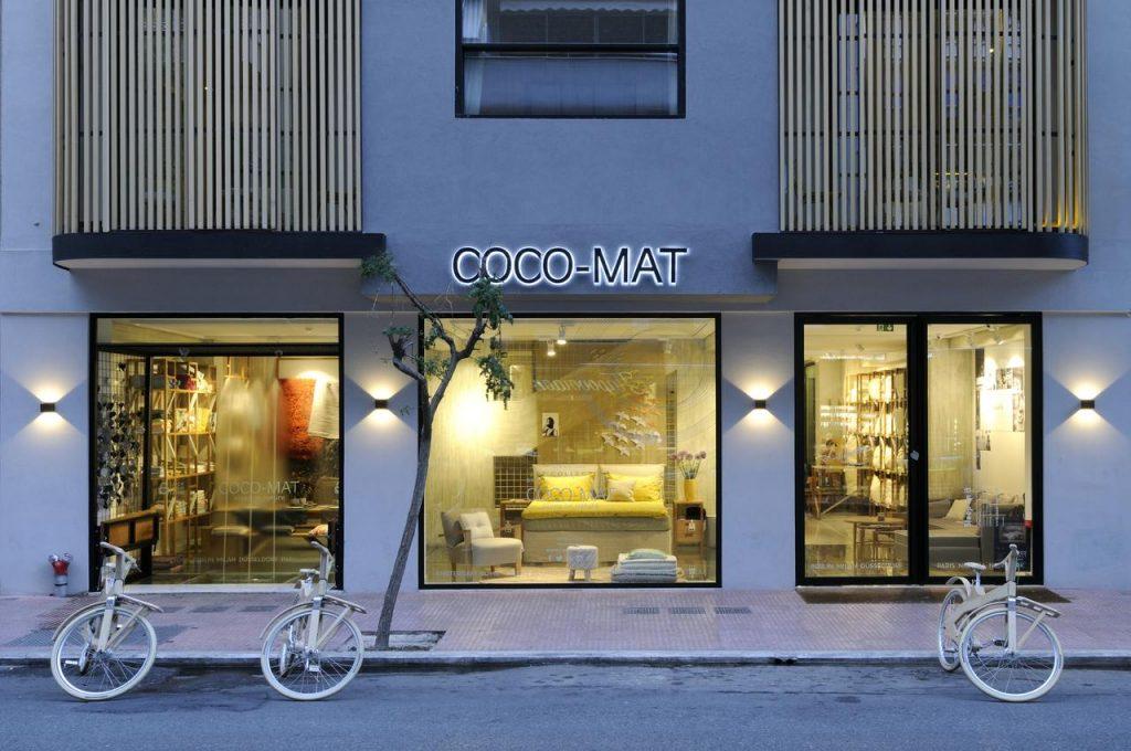 Το ξενοδοχείο Coco Mat Hotel Athens στο Κολωνάκι
