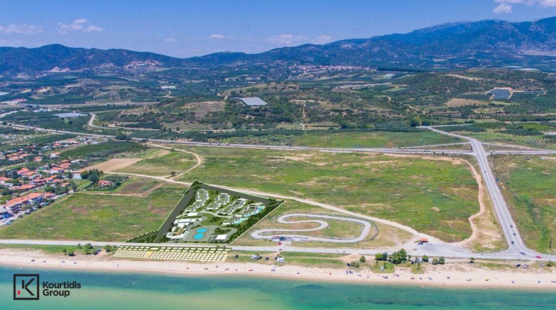 Costa Ofrynio: η περιοχή που θα γίνει η νέα τουριστική επένδυση - Φωτό: Όμιλος Κουρτίδη