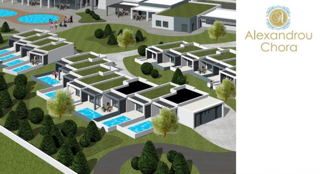 Το νέο ξενοδοχείο Alexandrou Chora στο Costa Ofrynio - Φωτό: Όμιλος Κουρτίδη