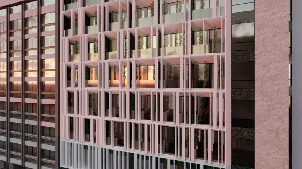Το νέο ξενοδοχείο NYX Athens, στο πρώην Esperia στη Σταδίου - Πηγή: Tsolakis Architects