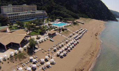 To ξενοδοχείο Grand Hotel Glyfada στην Κέρκυρα