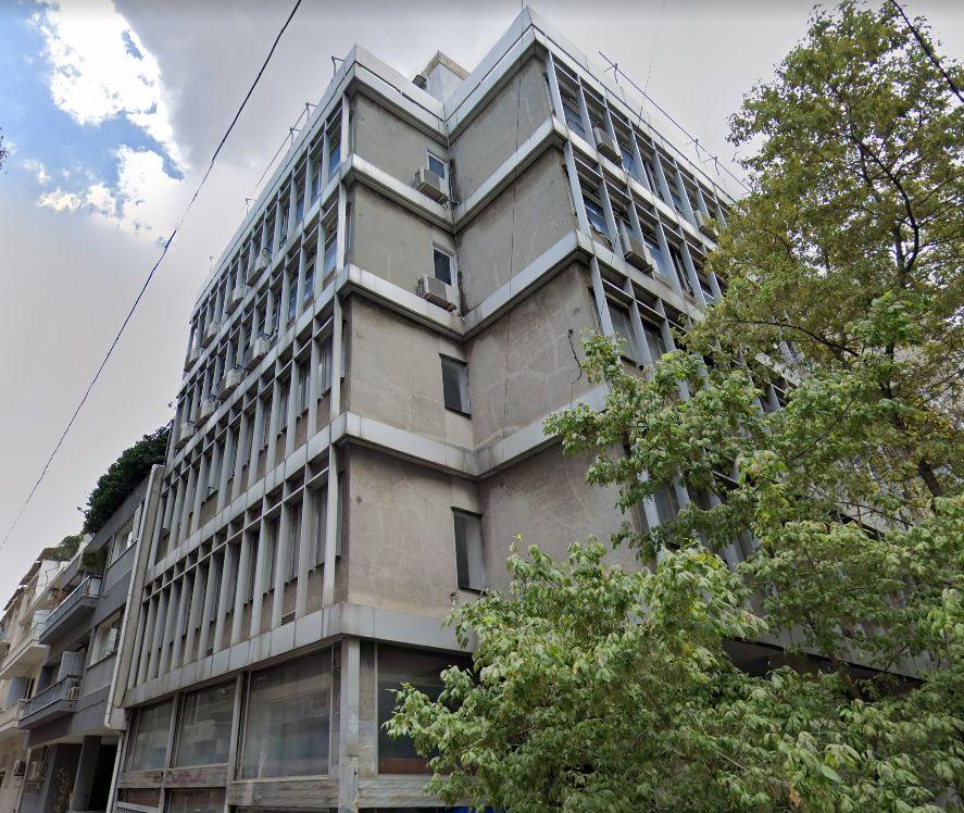 Το κτίριο στη συμβολή των οδών Βουκουρεστίου και Αλ. Σούτσου στο Κολωνάκι