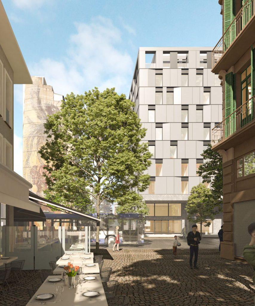 Το νέο 5άστερο ξενοδοχείο NYX Thessaloniki στα Λαδάδικα - Φωτό: Tsolakis Architects