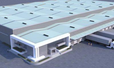 Οι νέες εγκαταστάσεις logistics της Ν. ΚΑΡΠΑΘΙΟΣ Α.Ε. για τη Sarmed στον Ασπρόπυργο - Φωτό: Ν. ΚΑΡΠΑΘΙΟΣ Α.Ε.