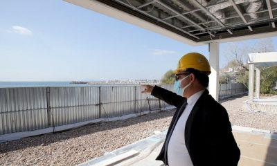 Αυτοψία στα έργα στα Αστέρια Γλυφάδας πραγματοποίησε ο Υπουργός Ανάπτυξης και Επενδύσεων, Άδωνις Γεωργιάδης - Φωτό: Υπουργείο Ανάπτυξης & Επενδύσεων