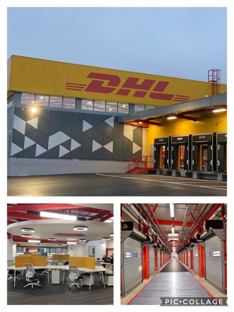 Το νέο DHL Express gateway στο αεροδρόμιο Θεσσαλονίκης - Πηγή: LinkedIn / Dimitris Stamatiou