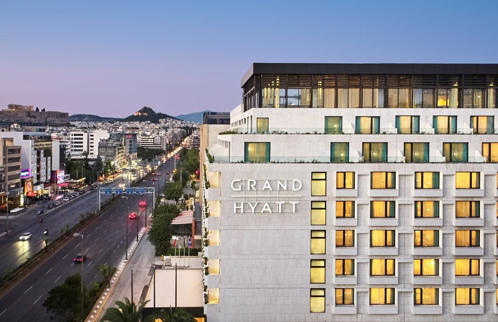 To πολυτελές Grand Hyatt στη Συγγρού - Φωτό: Hyatt.com