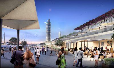 H Marina Galleria στη Μαρίνα του Αγίου Κοσμά - Πηγή: Lamda Development