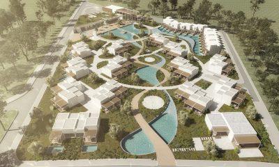 Η νέα τουριστική επένδυση Alexandrou Chora Project στο Costa Ofrynio - Φωτό: Kourtidis Group