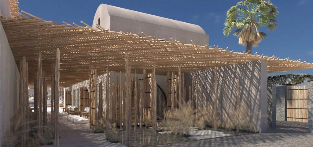 To νέο πολυτελές Radisson Blue Zaffron Resort στη Σαντορίνη - Φωτό: Radisson Hotels