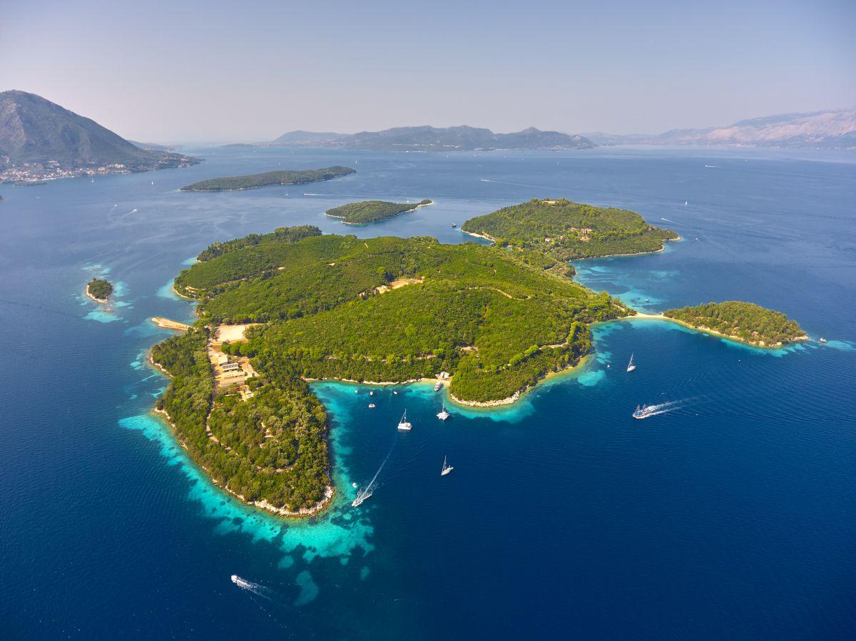 Το νησί Σκορπιός που θα υλοποιηθεί η μεγάλη τουριστική επένδυση VIP Exclusive Club - Φωτό: Ergonomia
