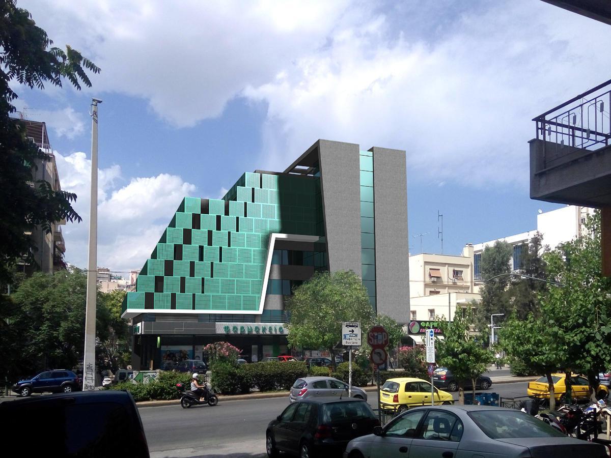 Το νέο κτίριο σύγχρονων γραφείων της Ten Brinke στη Λεωφ. Αλεξάνδρας - Φωτό: Ten Brinke