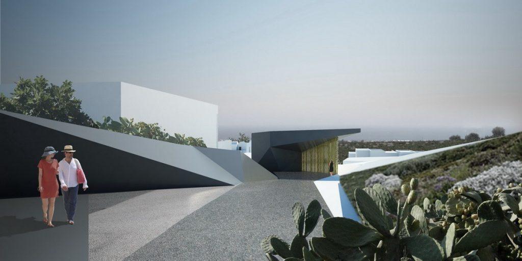 Το νέο πολυτελές YES Santorini Resort & Spa - Φωτό: MPLUSM Architects