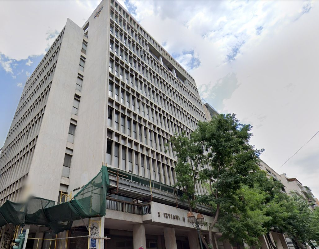 Το κτίριο στη συμβολή της Ακαδημίας με την Ομήρου, που θα μετατραπεί σε 5άστερο ξενοδοχείο