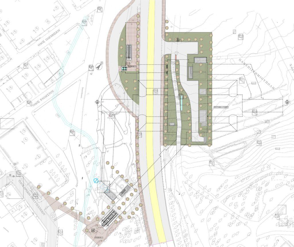 Ο Σταθμός Πανεπιστημιούπολη της νέας Γραμμής 4 του Μετρό της Αθήνας