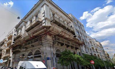 Το ιστορικό Μέγαρο Αλμυράντη στην Παλιά Βουλή, που θα μετατραπεί σε πολυτελές ξενοδοχείο