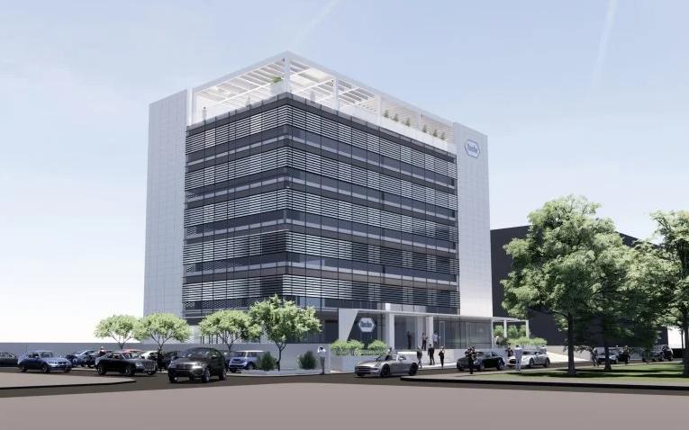 Το ανακαινισμένο κτίριο γραφείων της Roche στο Μαρούσι, όταν ολοκληρωθεί
