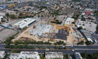 Το νέο υπό κατασκευή κέντρο διαλογής δεμάτων (hub) της ACS στην Π. Ράλλη - Πηγή: ANAX Group