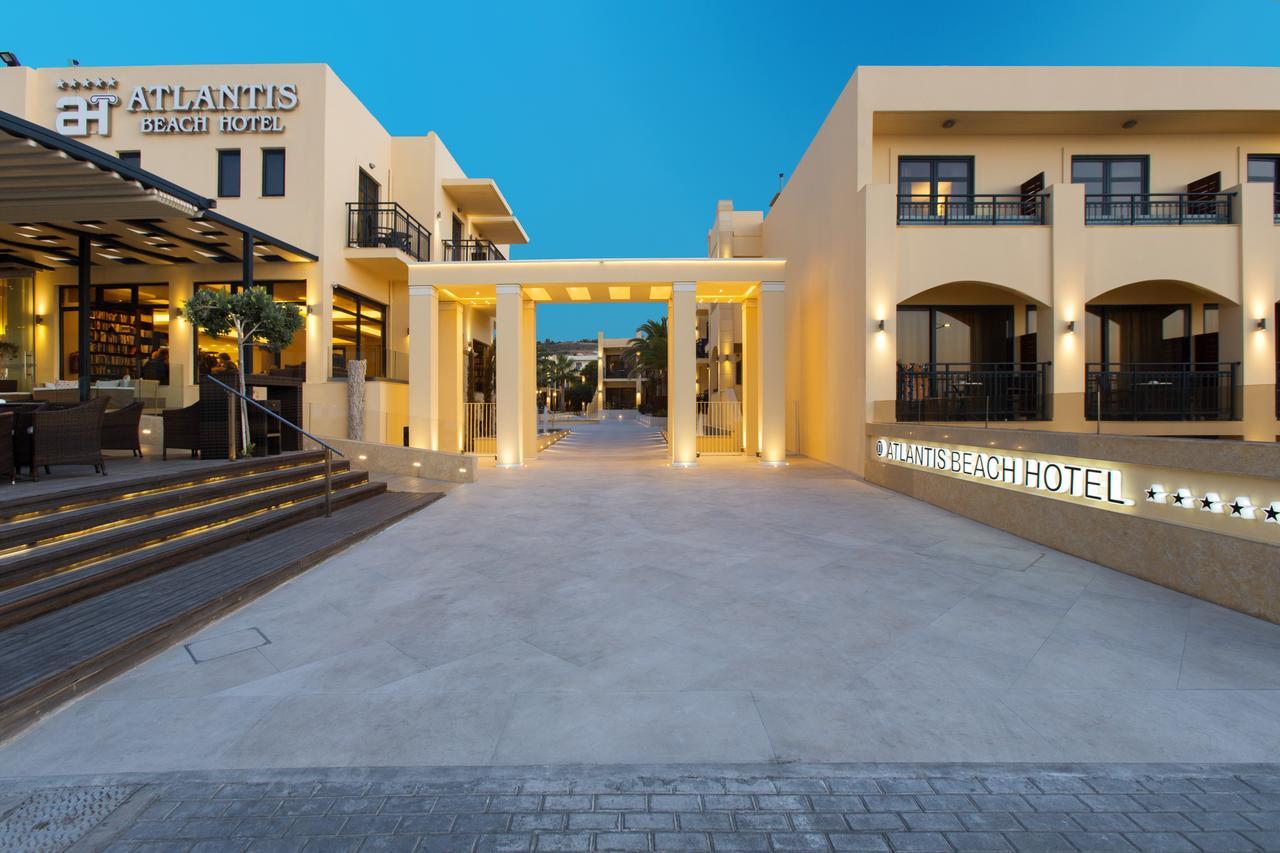 Το ξενοδοχείο πέντε αστέρων Atlantis Beach Hotel στο Ρέθυμνο