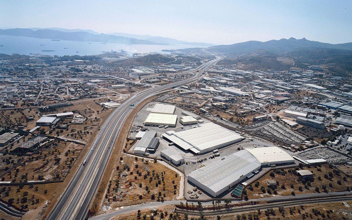 Οι εγκαταστάσεις logistics της Sarmed στη Μάνδρα - Πηγή: Sarmed