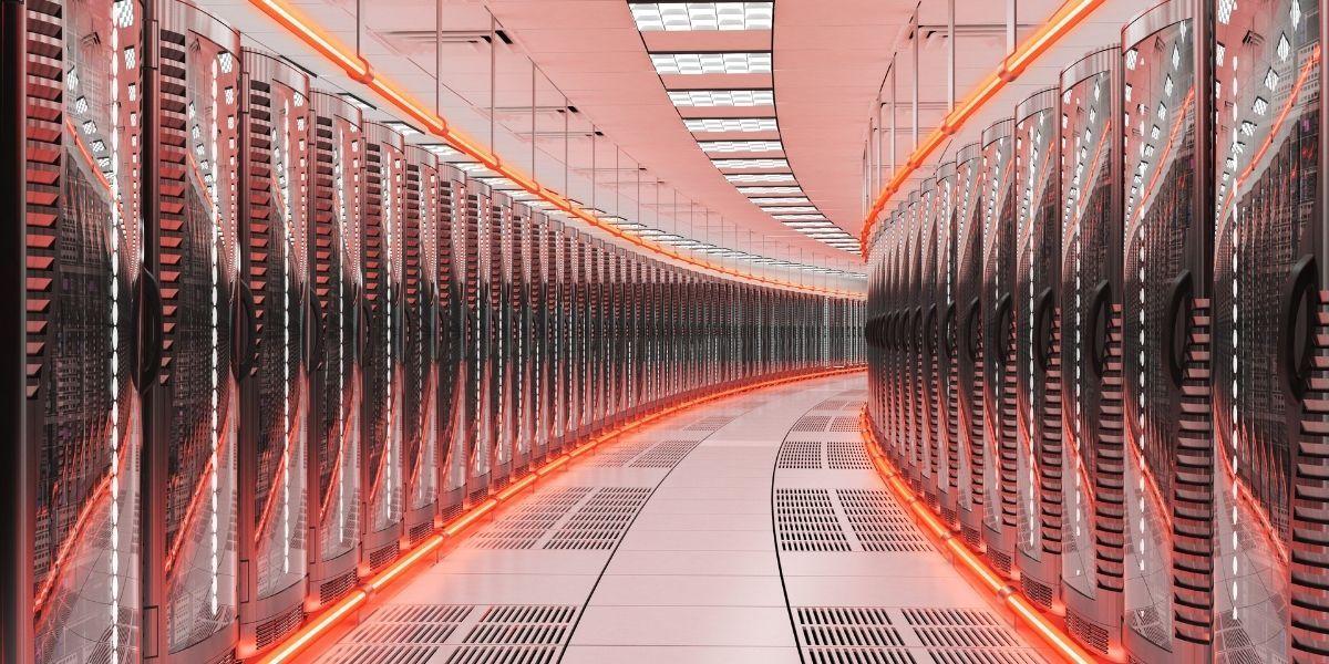 Άποψη ενός data center - Φωτογραφία αρχείου - Πηγή: Canva