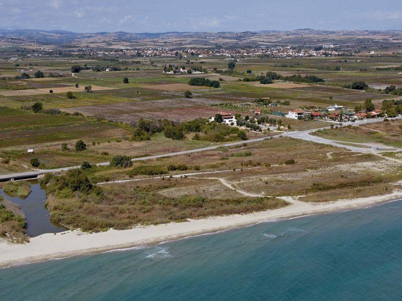 Τα ακίνητα της ΕΤΑΔ προς αξιοποίηση στην Παραλία Καλλιθέας στην Πιερία - Πηγή: ΕΤΑΔ