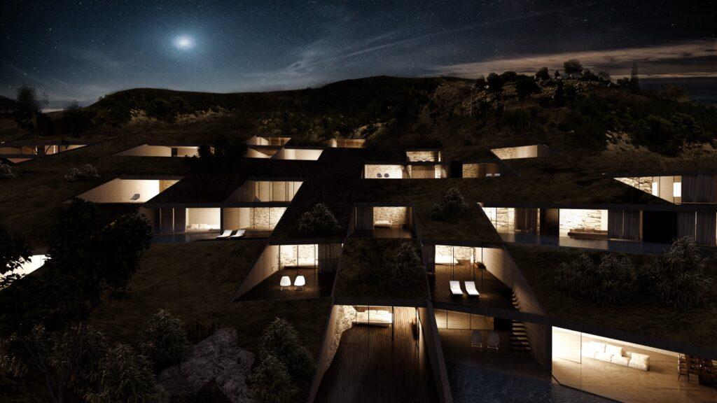 Το νέο 5αστέρων Infinity Porto Heli στο Πόρτο Χέλι - Πηγή: Mold Architects