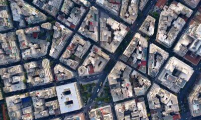Η Πλατεία Κάνιγγος και τα Εξάρχεια από ψηλά