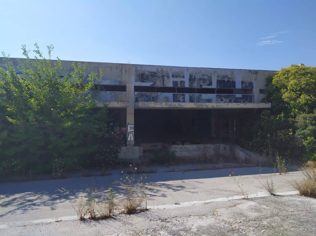To κτίριο που στεγαζόταν η Kodak στο Μαρούσι - Πηγή: ektasis-isologismoi.eu/