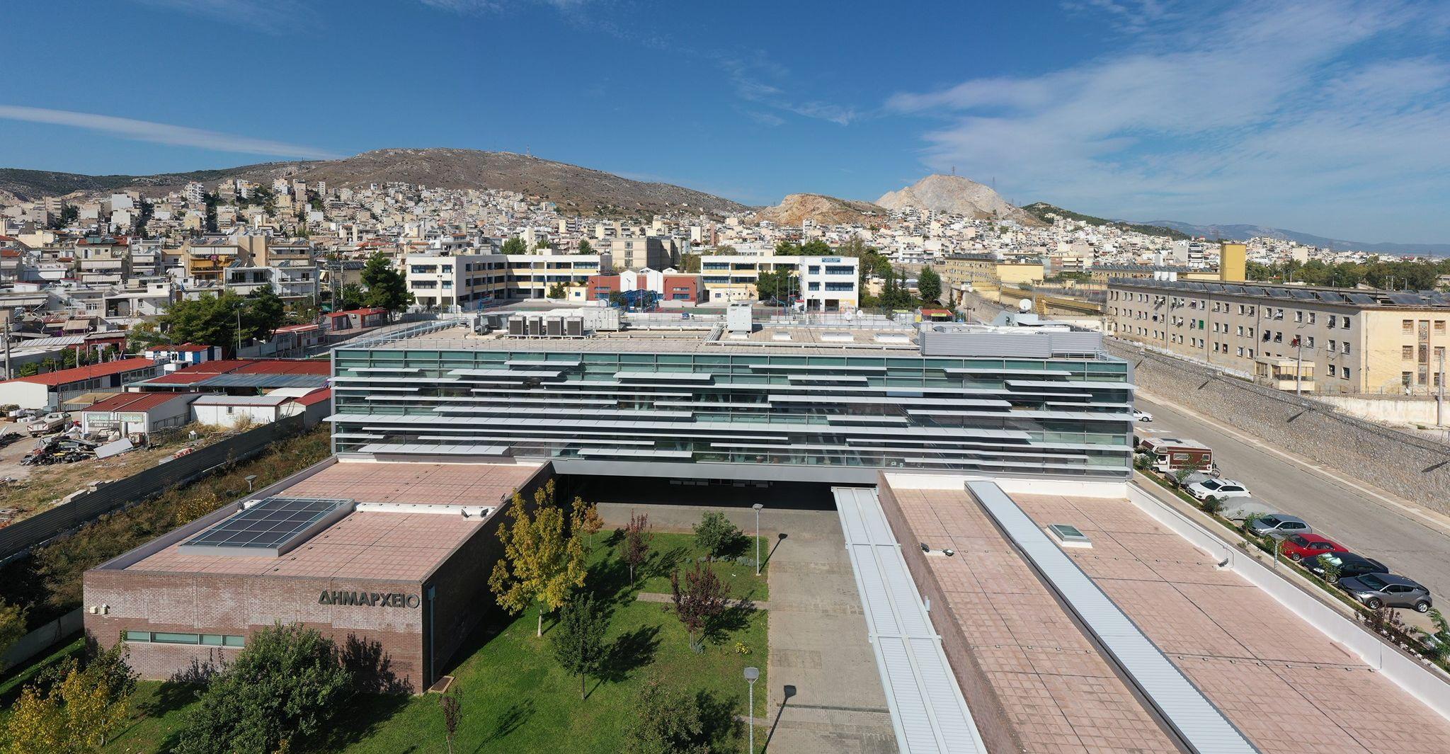 O Κορυδαλλός από ψηλά - Πηγή: Δήμος Κορυδαλλού