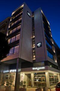 Το ξενοδοχείο NLH Fix στη Λεωφόρο Συγγρού - Φωτό: NLH