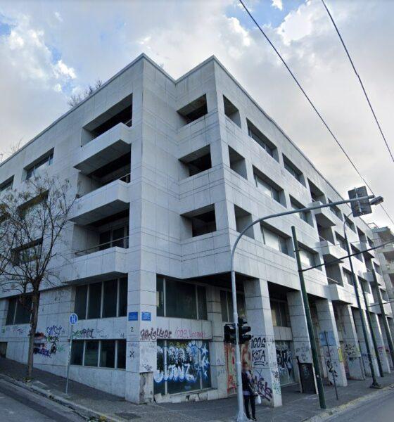 To κτίριο στο Μετς που θα μετατρέψει η Noval σε κτίριο κατοικιών και γραφείων
