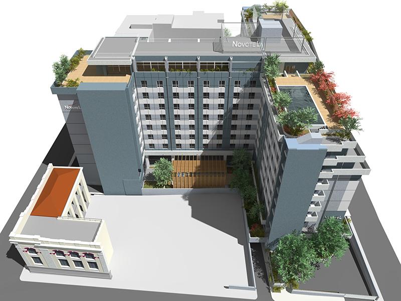 Τα σχέδια για το νέο ξενοδοχείο Novotel στον Πειραιά - Πηγή: Hatsios Development