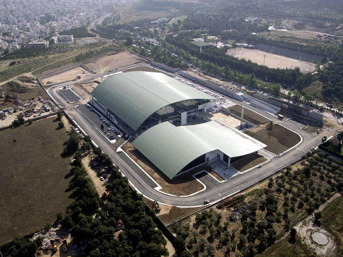 Το Ολυμπιακό Κέντρο Γαλατσίου - Πηγή: ΕΤΑΔ