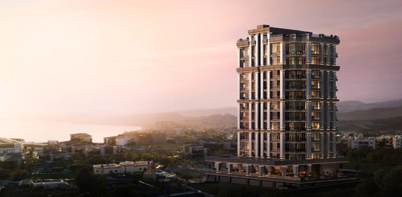 Το πολυτελές κτίριο κατοικιών Park Tower στη Λεμεσσό - Φωτό: Park Tower