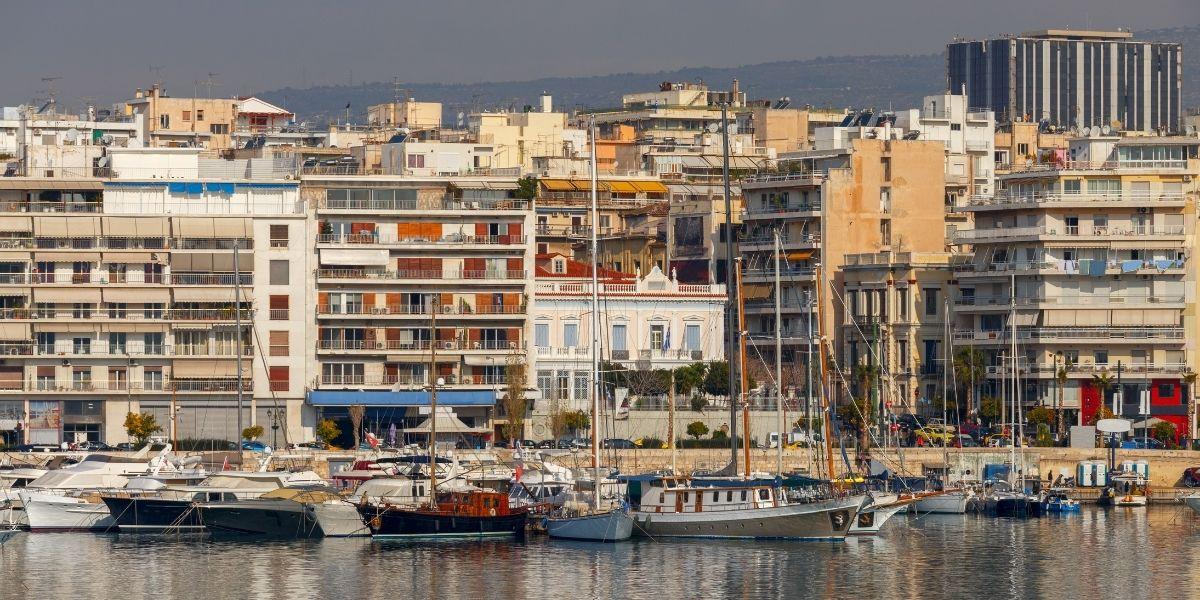 Άποψη του Πειραιά - Πηγή: Canva