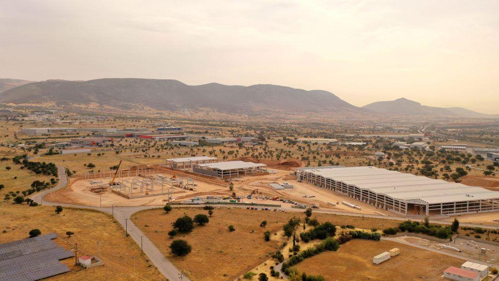 Το νέο κέντρο logistics της Ten Brinke στην Ελευσίνα - Πηγή: Ten Brinke
