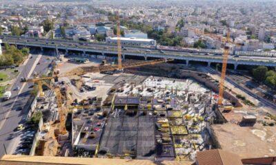 Το υπό κατασκευή νέο εμπορικό πάρκο της Ten Brinke στην Πειραιώς - Πηγή: Ten Brinke