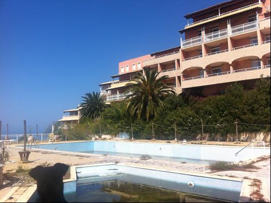 Το φημισμένο ξενοδοχείο Yaliskari Hotel στην Κέρκυρα - Πηγή: PQH