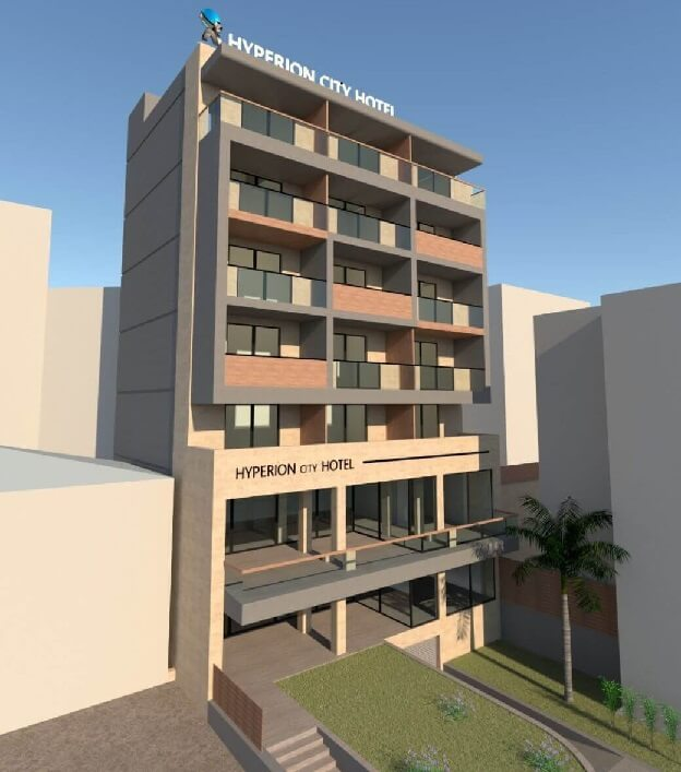 hyperion city hotel chania 2