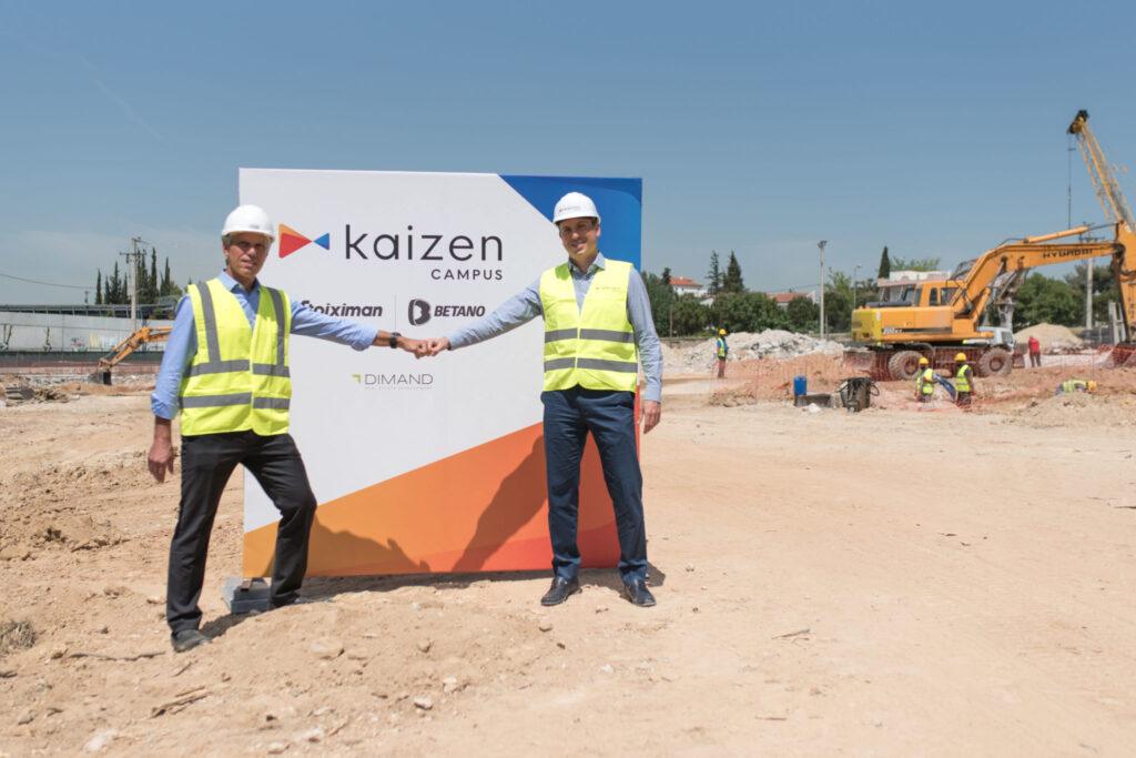 Ξεκίνησαν τα έργα για το νέο σύγχρονο κτίριο γραφείων Kaizen Campus στο Μαρούσι - Πηγή: Kaizen