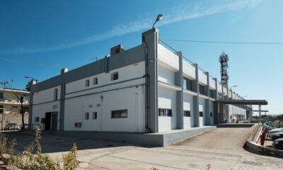 Το νέο επισκευαστικό κέντρο της Γερμανός στην Πάρνηθα - Πηγή: Γερμανός