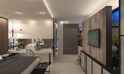 Το νέο boutique ξενοδοχείο Ivis_4 στο Ψυρρή - Πηγή: Modus & Amplio