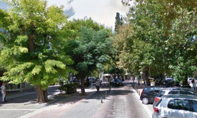 Η οδός Κολοκοτρώνη στην Κηφισιά