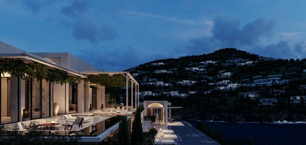 Το υπερπολυτελές One&Only Kea Island στην Τζιά - Πηγή: Dolphin Capital Investors