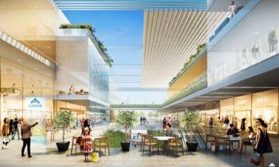 Το νέο εμπορικό κέντρο Vouliagmenis Mall στο Ελληνικό - Πηγή: Lamda Development
