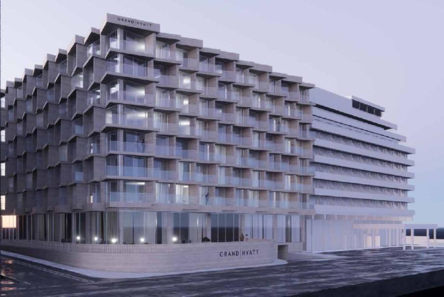 Το νέο ξενοδοχείο 5 αστέρων στο πρώην Odeon Star City στη Συγγρού - Πηγή: Intrakat
