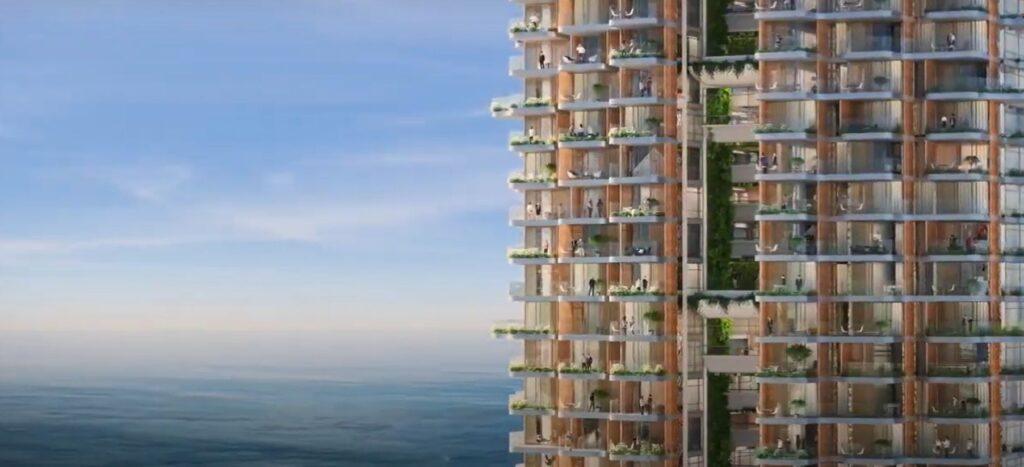 Ο οικιστικός πύργος Marina Tower στο Ελληνικό - Πηγή: Lamda Development